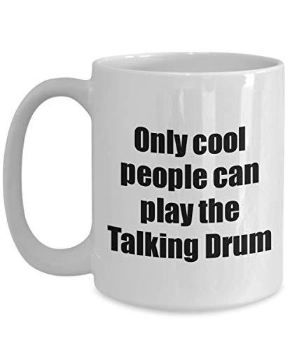Primary image for Talking Drum Player Mug Musician Funny Gift Idea Gag Coffee Tea Cup 15 oz