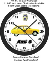 1969 Citroen Ami 8 Wall Clock-Free US Ship - $27.71+