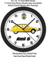 1969 Citroen Ami 8 Wall Clock-Free US Ship - $27.71+