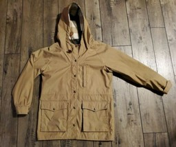 Ladies LEVI's Strauss Hooded Womens Jacket or Coat Beige Size Med - $28.01