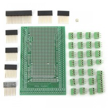 Double-side PCB Prototype Screw Terminal Block Board Kit Shield For Mega... - $16.32
