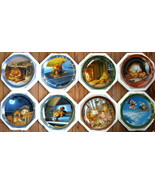 Garfields Dear Diary 8 plate collection by the Danbury Mint . - $270.00