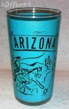 1960'S Retro Hazel ATLAS--ARIZONA Souvenir Glass - $10.95