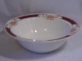 Homer Laughlin China B1315 pattern SERVING Vegetable BOWL dish ~ roses f... - $14.99