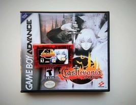 Castlevania Aria of Sorrow - Gameboy Advance GBA Custom Case + Game (USA... - $12.08+