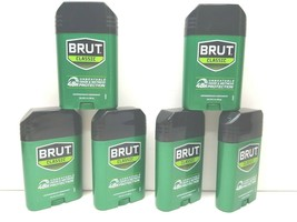 6 BRUT Classic 2 Oz Antiperspirant Deodorant Solid White Odor Stick Exp ... - $21.77