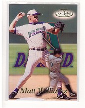 1999 Topps Gold Label #60 Matt Williams Diamondbacks Collectible Basebal... - $0.99