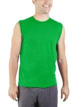 Fruit Of The Loom Men's Platinum Muscle Shirt Size Large (42-44) Green U... - $12.46