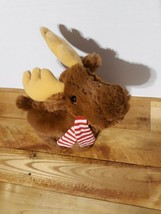 "Holiday Moose Plush, Manhattan Toy Company High Quality Stuffed Animal 10"" - $14.68"