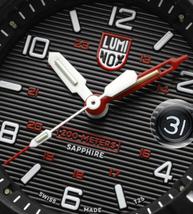 Luminox Men's Watch Navy SEAL Magnifying    Glass 3615    Black/Red    NEW image 3