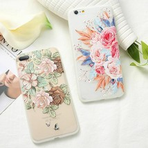 Flowers Blossom Pattern Case For Huawei Soft TPU Phone Cover Spring  - $5.07