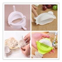 2 Pcs Dumpling Tools Dumpling Maker Device Jiaozi Mold Kitchen Gadgets AB12