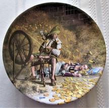 Konigszelt Rumpelstilzchen 1981 Collector Plate Gehm Grimm's Fairy Tale ... - $16.99