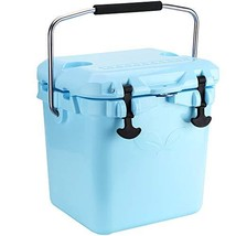 F40C4TMP 20L Cooler Ice Chest Insulated Hard Shell Box Cooler for Fishin... - $209.01