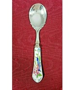 John Aynsley Pembroke Jam Preserve Spoon Porcelain and Stainless 5 1/2 I... - $23.99