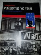 book - Walgreens, Celebrating 100 Years as the Pharmacy America Trusts, ... - $16.38