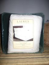 $400.00 Lauren Ralph Lauren 500 Thread Count Downtop Twin Featherbed, White - $103.95