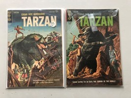 Lot of 2 Tarzan (1948-1972 Dell/Gold Key) #133 134 FN Fine - $39.60