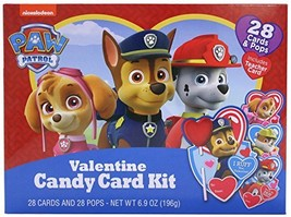 Nickelodeon Paw Patrol Valentine's Day Card Exchange Kit with Lollipops,... - $11.38