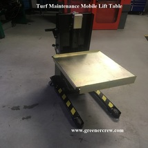 Mobile Lift Table Golf Course Turf Maintenance  - $4,450.00