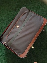 "Vtg American Tourister Luggage Ultra Light Tech 25 "" Suitcase Wheels & H... - $37.51"