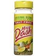 Mrs. Dash Seasoning, Salt Free Original, 6.75 Ounce - $12.43