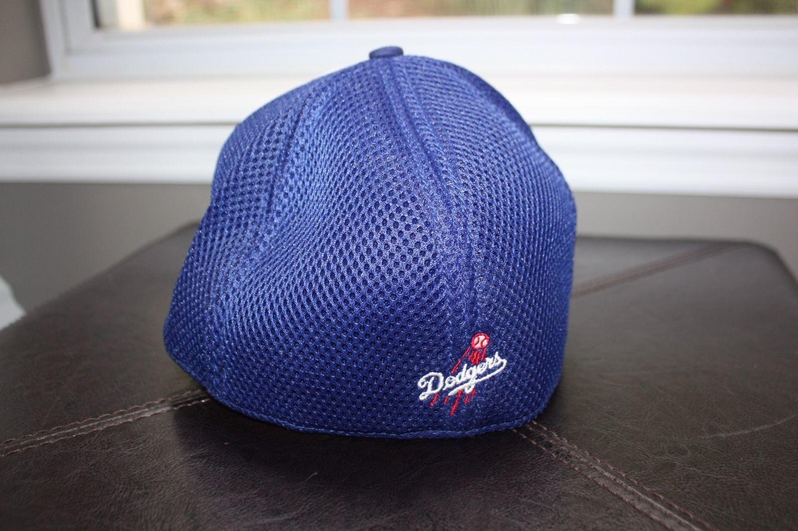 Los Angeles Dodgers LA New Era  39THIRTY Stretch Flex Mesh Cap Hat M-L