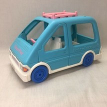 Fisher Price LOVING FAMILY - Blue Mini Van w/ Luggage Rack for Dollhouse... - $19.79
