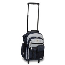 Rolling Duffel Bag Large Travel Wheeled Day Bag Women Men Backpack Schoo... - $56.06