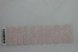 Jamberry Nail Wrap 1/2 Sheet (new) ROSE QUARTZ LOTUS - $8.60