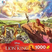 Ceaco 1000 Piece Disney Fine Art - The Lion King Jigsaw Puzzle, Kids and Adults - $25.73
