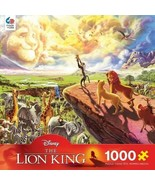 Ceaco 1000 Piece Disney Fine Art - The Lion King Jigsaw Puzzle, Kids and... - $25.73