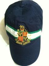 POLO RALPH LAUREN MENS NEW NAVY BLUE 100%COTTON BASEBALL CAP ADJUSTABLE ... - $116.88