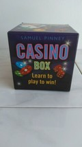 Casino In A Box How to Throw a Poker Party Kit - $4.95