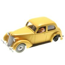 The Damaged car The Crab with the Golden Claws Voiture Tintin cars 1/43