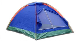 Camping Tent Nylon Outdoor Beach Tent Single Layer 2 Person Tent Ultralight - $66.82+