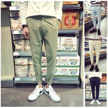 100% cotton young men fashion Feet pants casual pants - $33.66