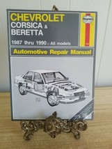 Haynes Chevrolet Corsica & Beretta 1987 thru 1990 Automotive Repair Manual #1628 - $11.29
