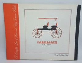 1963 Carriages By Arkla - Horse Drawn Vehicles & Wagons Catalog and Pric... - $30.95