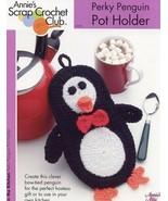 Perky Penguin Pot Holder Annie's Scrap Crochet Pattern/Instructions Leaf... - $2.67