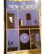 """New Yorker Dec. 9, 2019 COVER:  """"Rooftop Astronomy"""" by Tom Gauld - $6.92"""