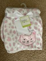 "NEW Baby Starters Princess Kitten Hearts Fleece Baby Blanket Lovey 30""x 40"" - $19.75"