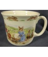 Royal Doulton Bunnykins Hug A Mug FAMILY WITH PRAM 1 Handled Bone China ... - $19.95