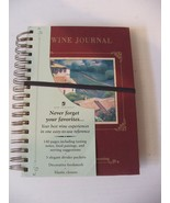 New Wine Journal New Seasons Tasting Notes Elastic Closure Reference Div... - $8.42