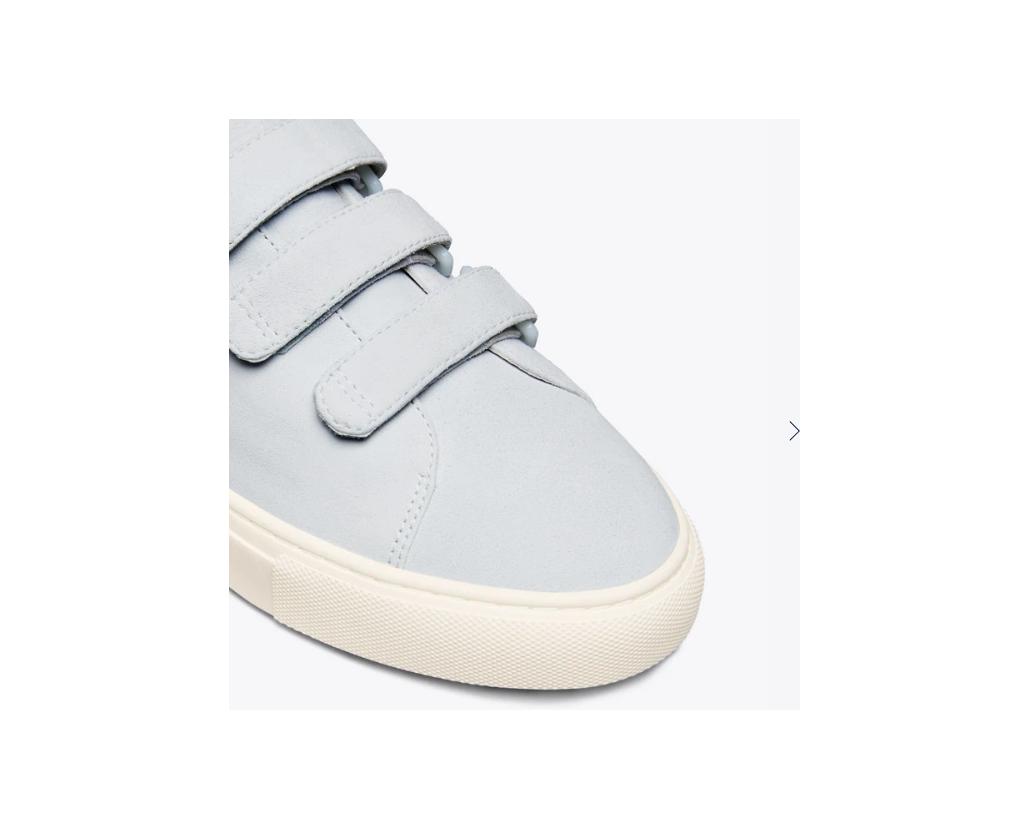 Tory Burch triple-strap sneakers blue silk / snow white Size US 8 NWB