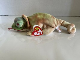 TY Beanie Baby Rainbow the Chameleon 1997 Rare Retired Vintage & Collectable - $7.00