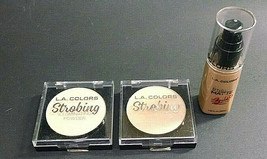 Lot of 3  L.A. Colors Cosmetics/Makeup, Various, As Pictured - $5.95