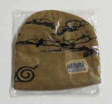 Authentic Naruto Shippuden: Brown Cloud and Forest Knit Beanie *New Sealed* - $23.99