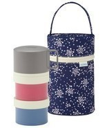 Thermos fresh lunch box three-stage 580ml navy DJL-580 NVY - £26.67 GBP