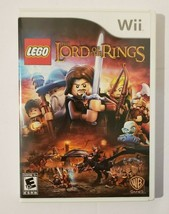 LEGO Lord Of The Rings 2012 Nintendo Wii Video Game CIB Complete - $13.81